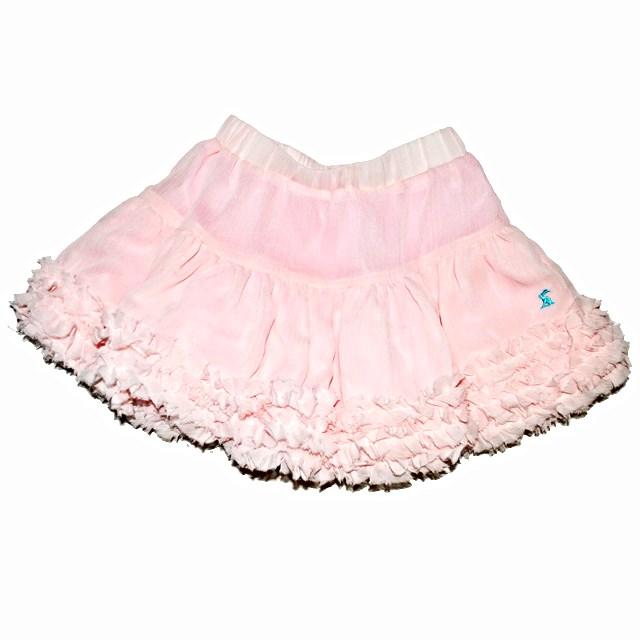 Фото 1: Розовая юбка из шифона