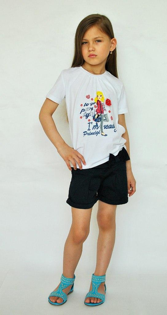 Фото 2: Детская футболка Primigi с рисунком