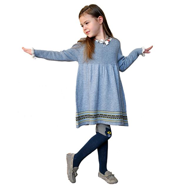 Серое платье для девочек I Pinco Pallino. Фото: 2