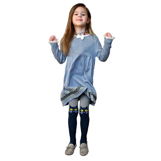 Серое платье для девочек I Pinco Pallino. Фото: 3