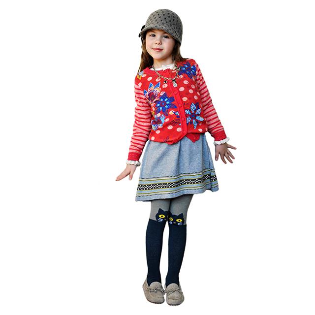 Серое платье для девочек I Pinco Pallino. Фото: 4
