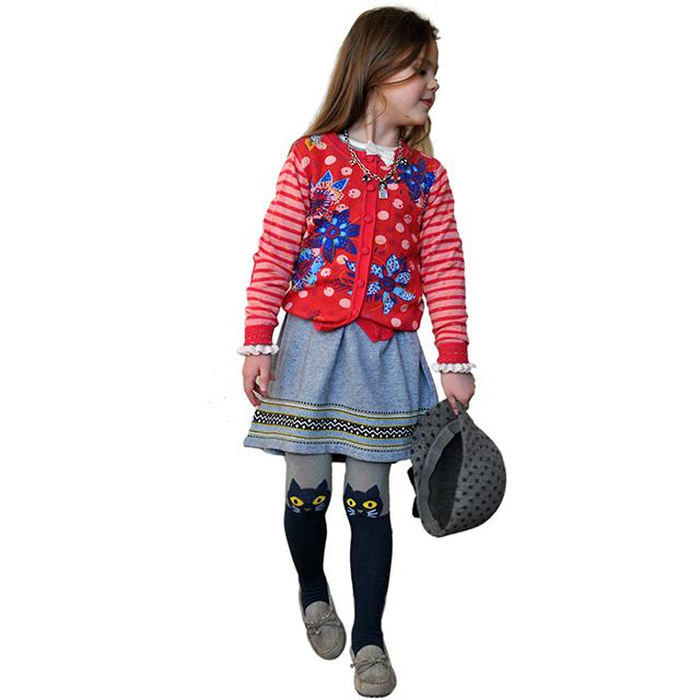Серое платье для девочек I Pinco Pallino. Фото: 5