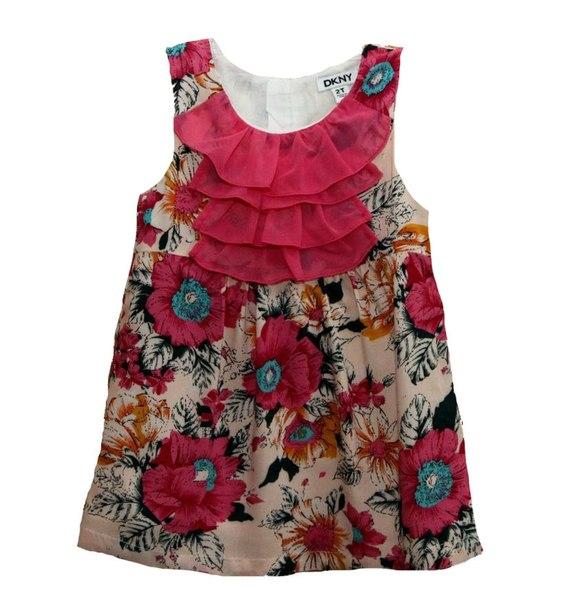 Фото 2: Красочное платье-туника DKNY