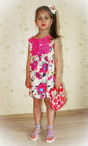 Фото 1: Красочное платье-туника DKNY