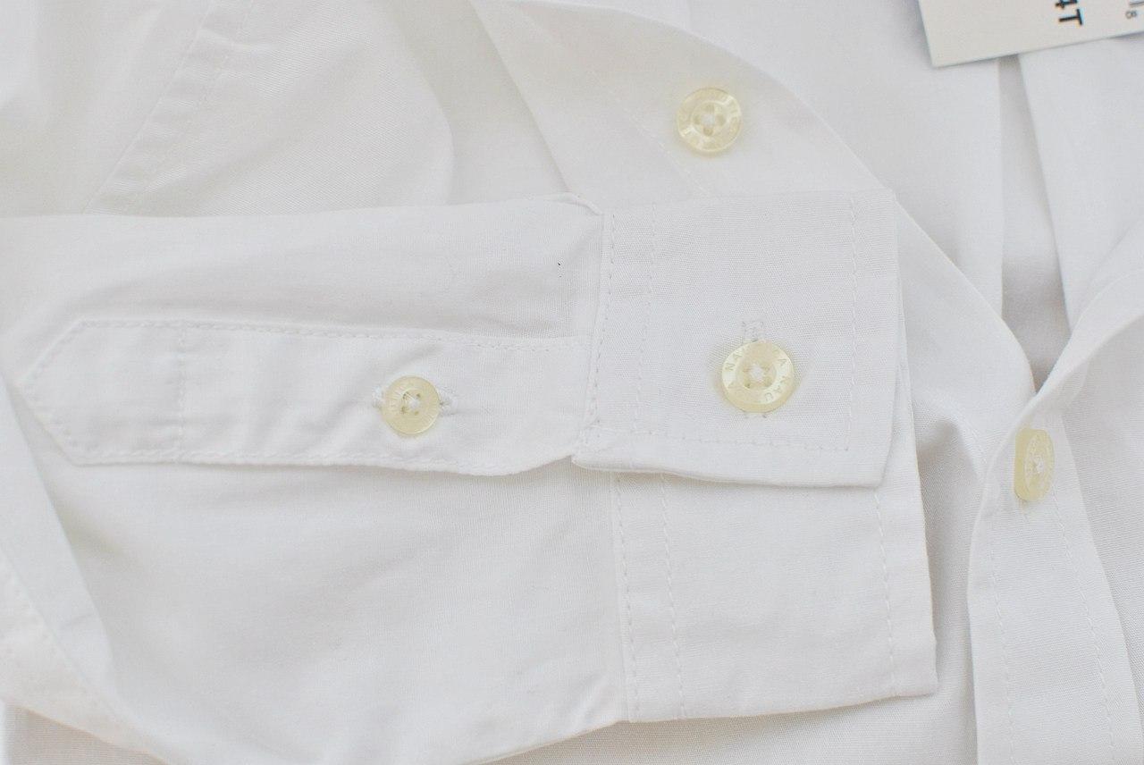 Фото 4: Классическая белая рубашка Nautica
