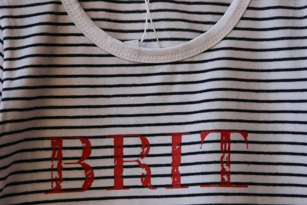 Фото 3: футболка в полосочку с рисунком