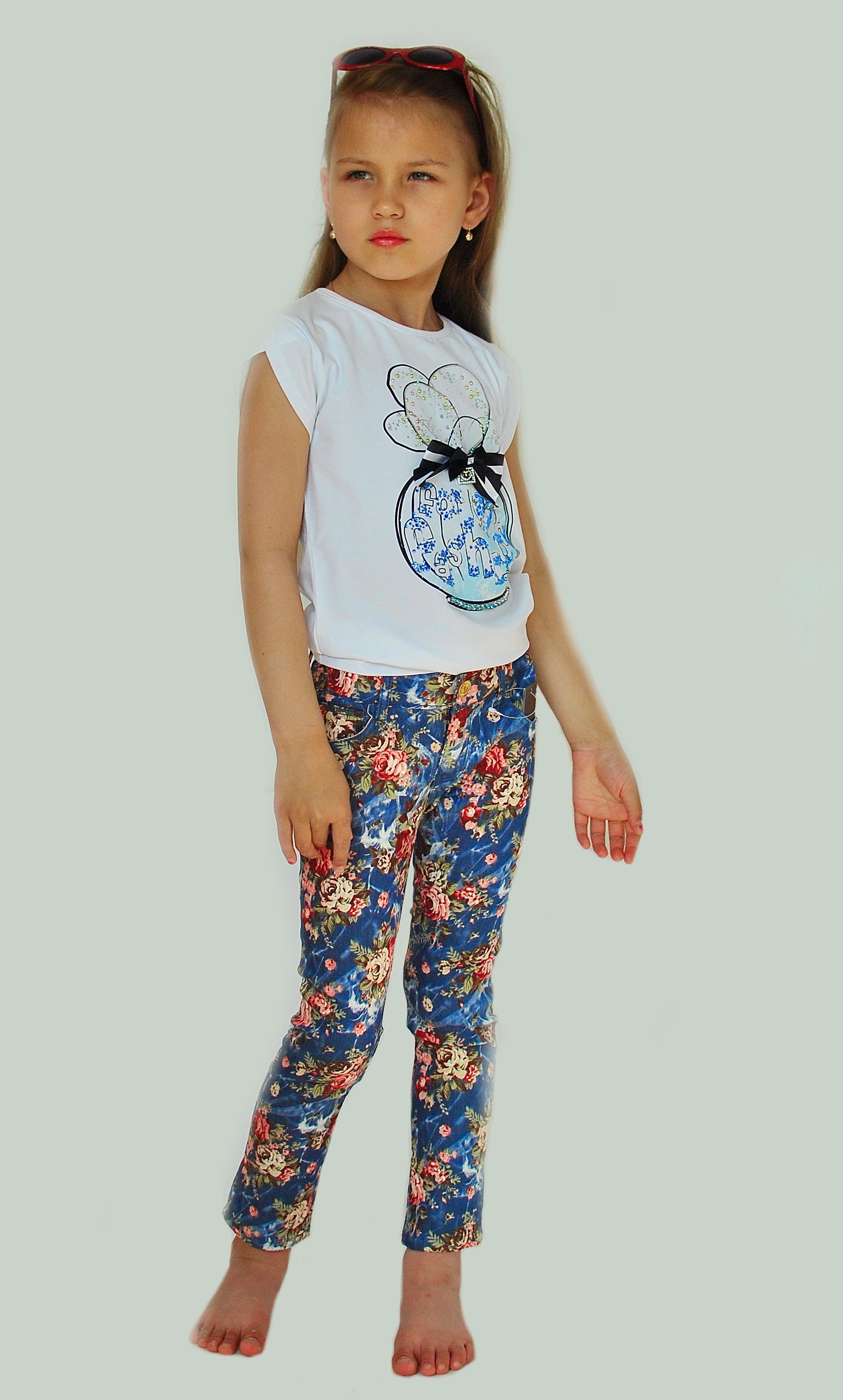 Фото 5: Яркие джинсы Catimini для девочек