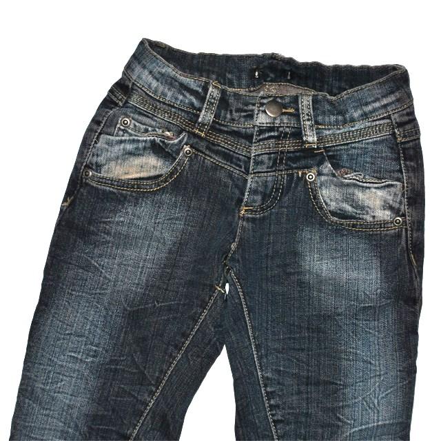 Фото 2: Зауженные джинсы Sisley для девочек