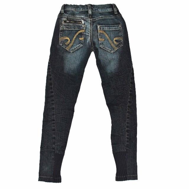 Фото 3: Зауженные джинсы Sisley для девочек