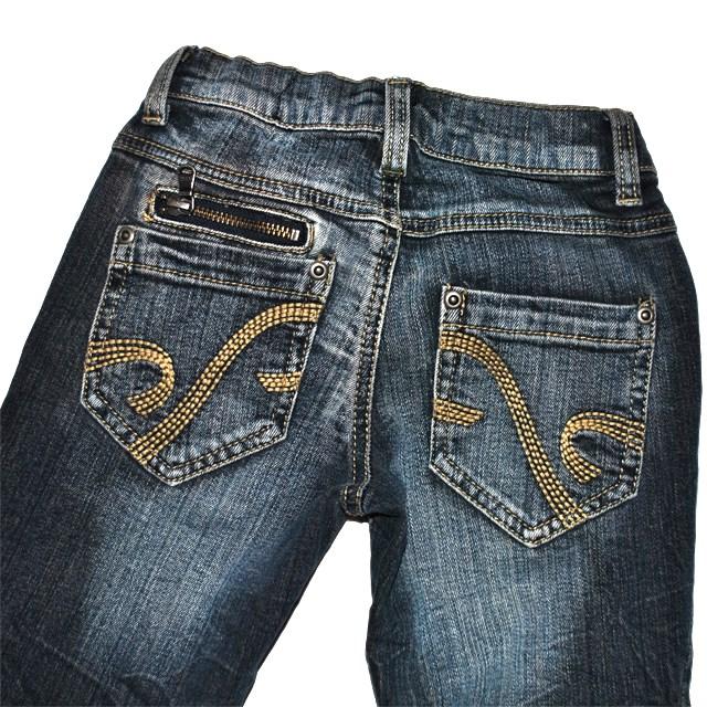 Фото 4: Зауженные джинсы Sisley для девочек