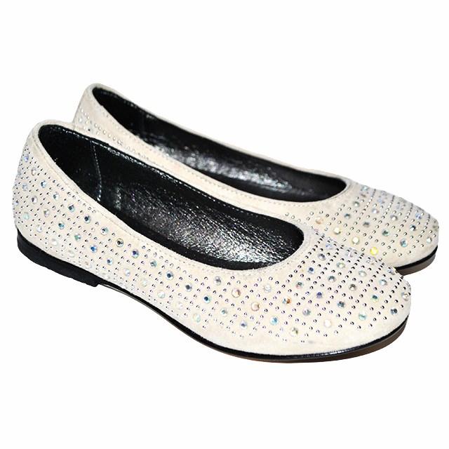 Фото 1: Туфли для девочек Simonetta украшены стразами