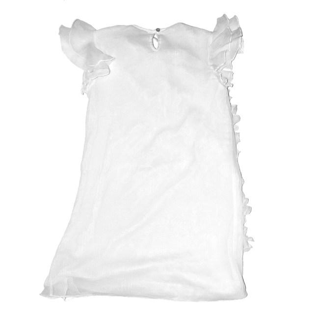 Фото 2: Нарядное белое платье Liu-Jo