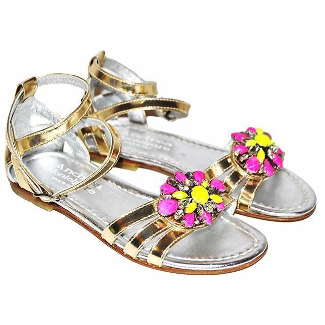 Фото 1: Модные сандалии Andrea Montelparo для девочек