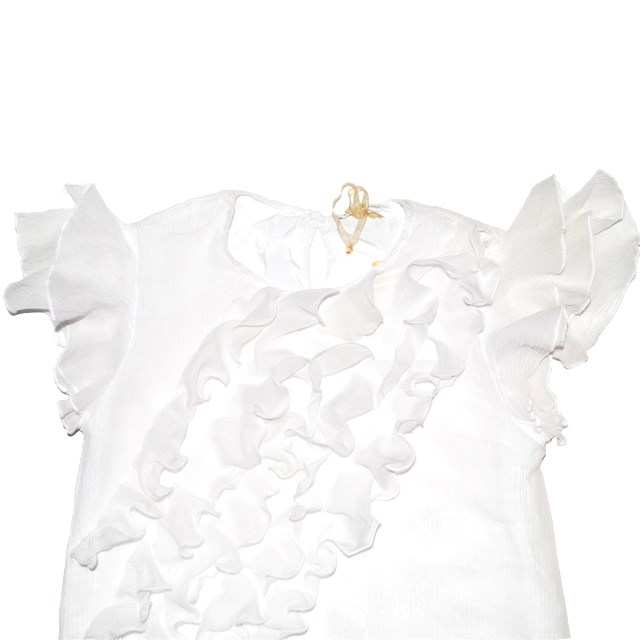 Фото 3: Нарядное белое платье Liu-Jo