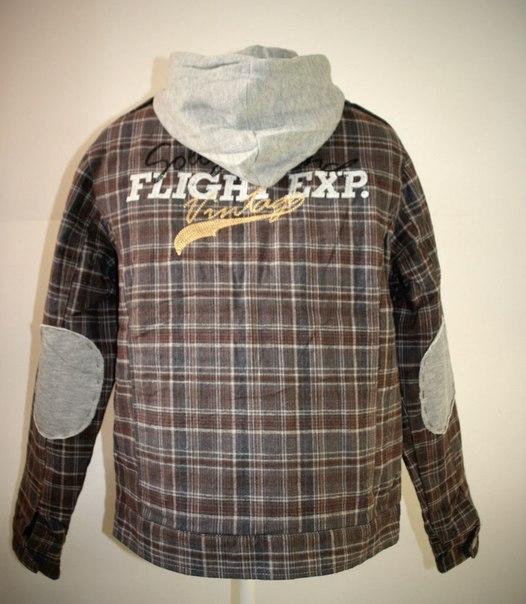 Фото 2: Утепленная куртка ikks с капюшоном