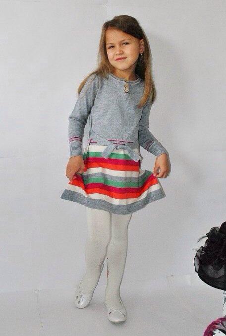 Фото 2: Серое платье I pinco Pallino
