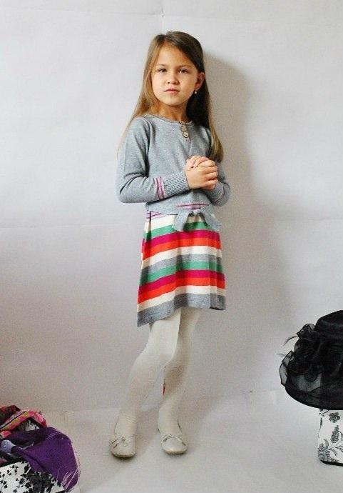 Фото 3: Серое платье I pinco Pallino