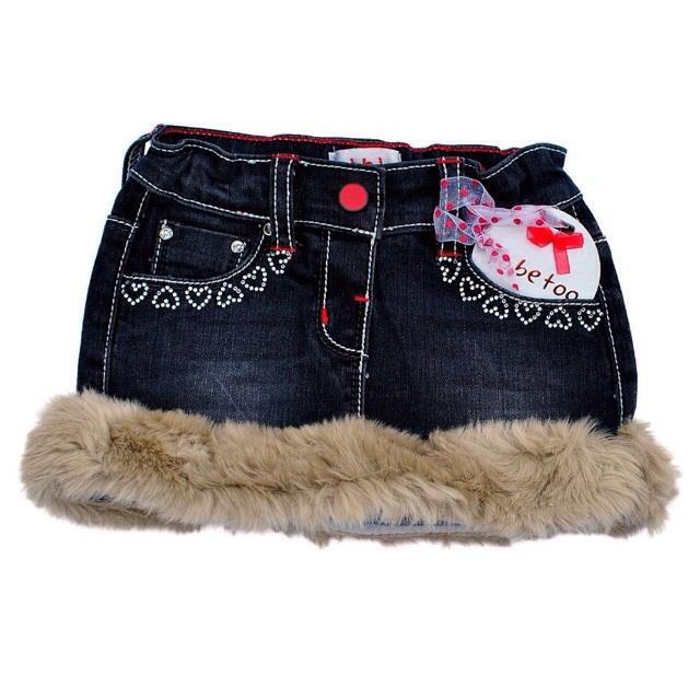 Фото 2: Детская джинсовая юбка TO BE TOO