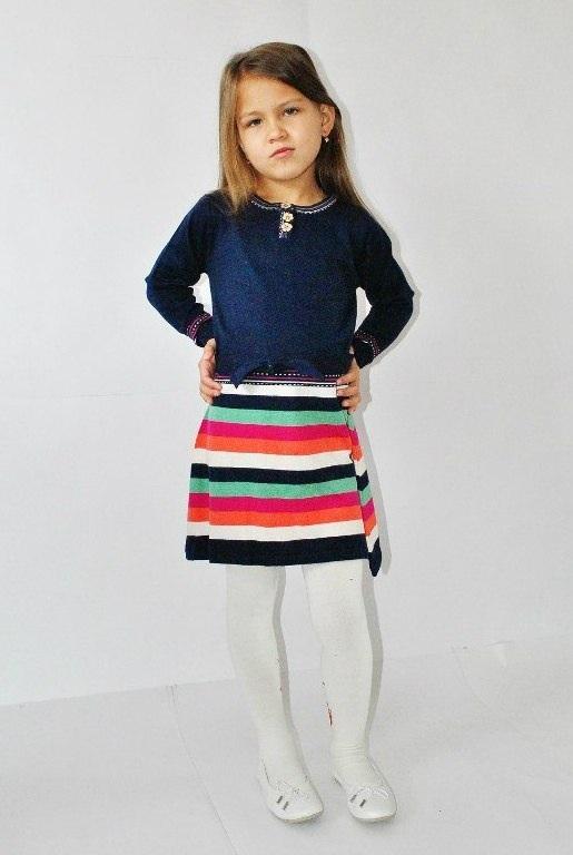 Фото 4: Синие платье I pinco Pallino