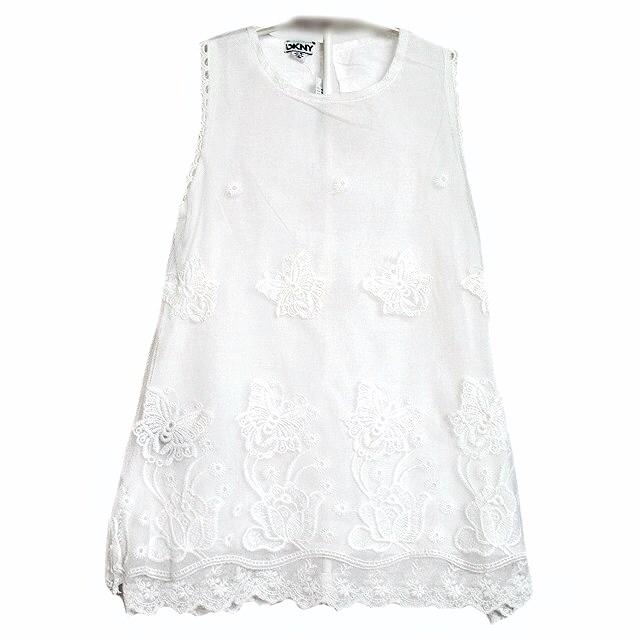 Фото 1: Нарядное платье DKNY кружевное