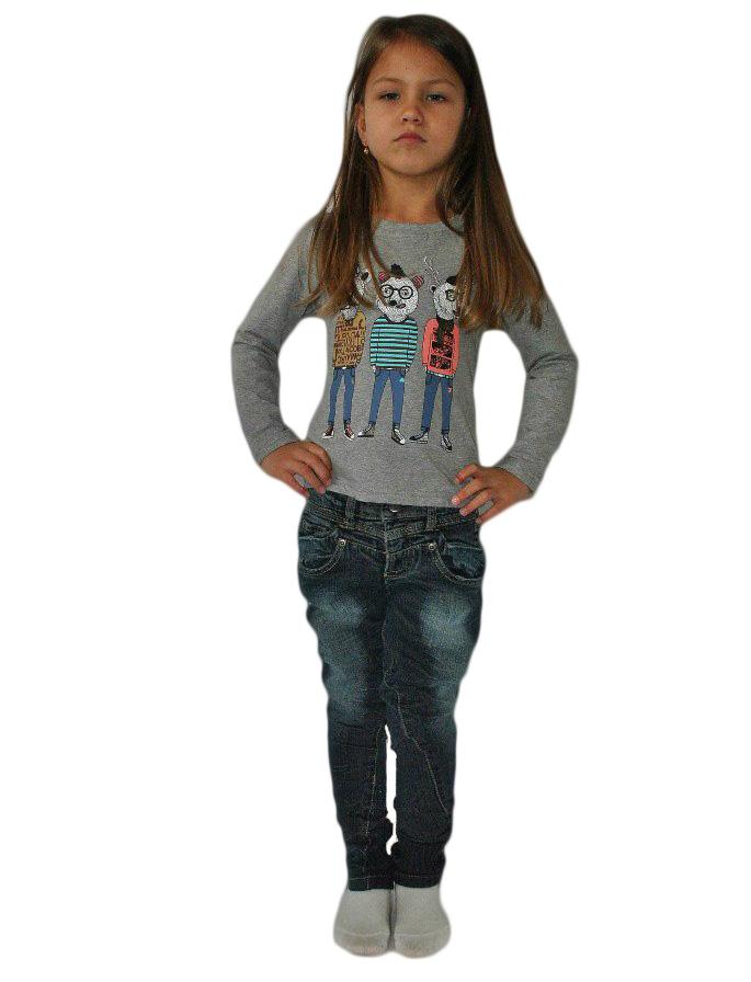 Фото 5: Зауженные джинсы Sisley для девочек