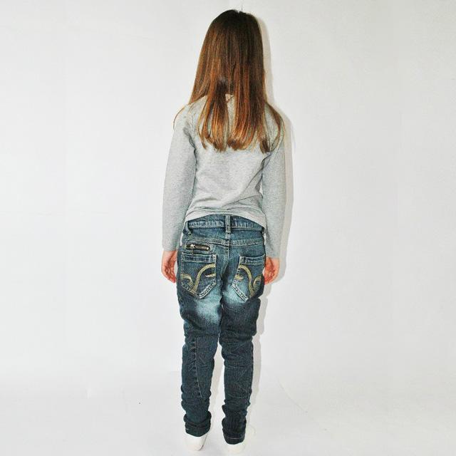 Фото 6: Зауженные джинсы Sisley для девочек