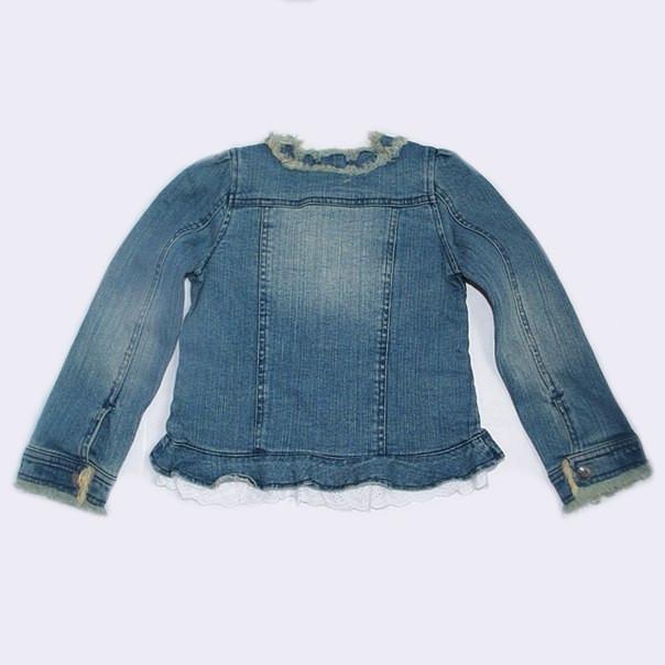 Фото 2: Пиджак джинсовый Guess для девочки