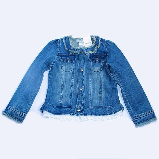 Фото 3: Пиджак джинсовый Guess для девочки