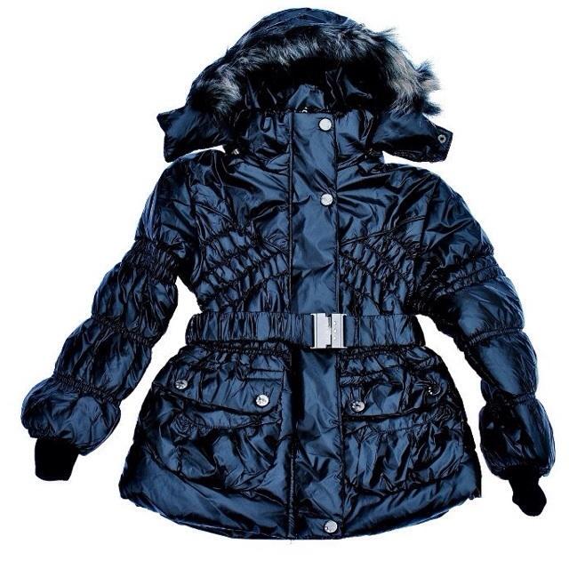 Фото 1: Куртка Ativo черная лакированная с поясом