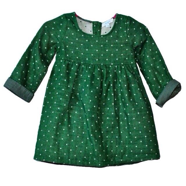 Фото 1: Яркое детское платье JACADI