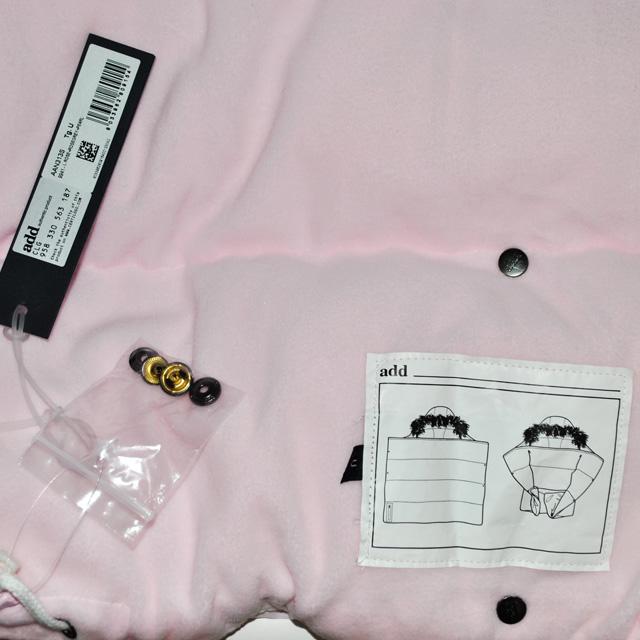 Фото 3: Легкий и теплый пуховый конверт Аdd розового цвета