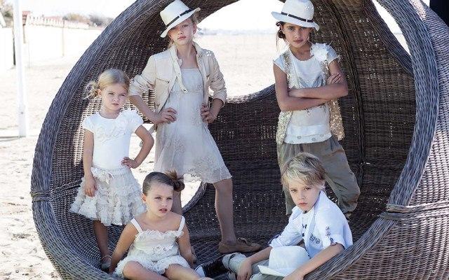 Фото 7: Модная юбка byblos для девочек