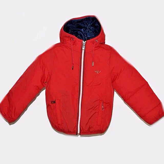 Фото 3: Красная детская куртка Street Gang для мальчиков