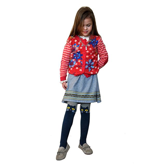 Красный кардиган для девочек Catimin. Фото 6