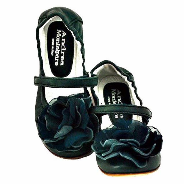 Фото 3: Черные туфли Andrea Montelpare с бантиком