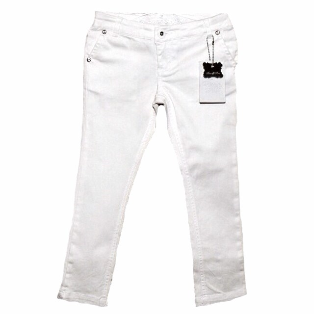 Фото 1: Белые брюки Fan-Fan для девочек