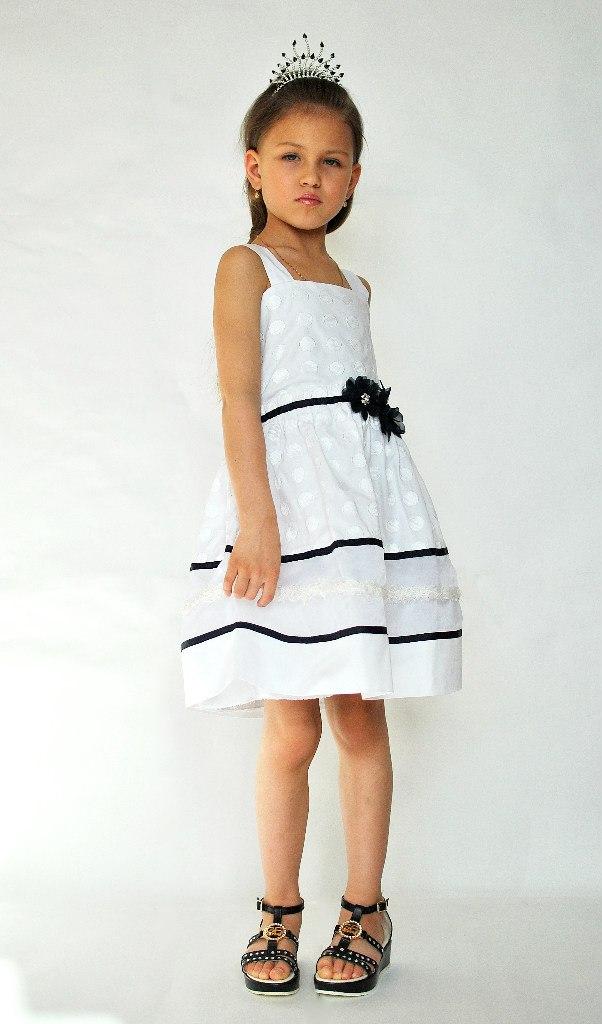 Фото 8: Нарядный сарафан ARTIGLI для девочек