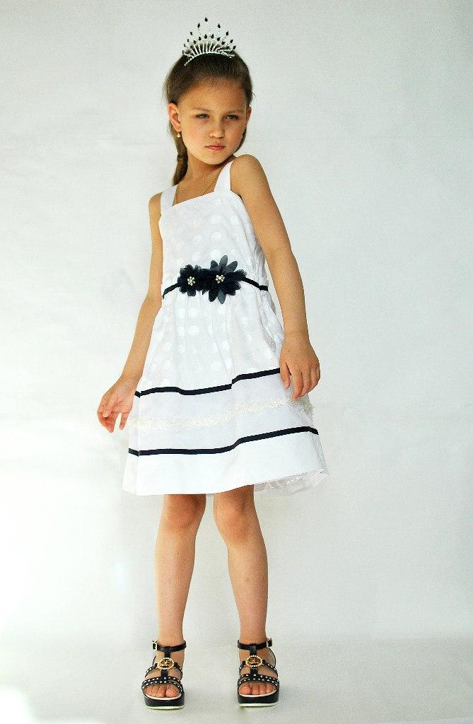 Фото 9: Нарядный сарафан ARTIGLI для девочек