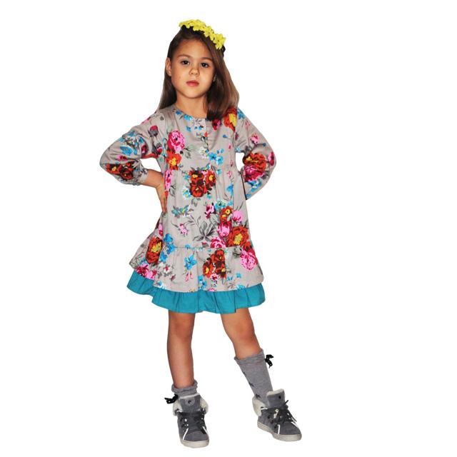 Фото 2: Детское платье Kenzо, яркие цветы