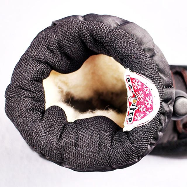 Непромокаемые мембранные сапоги, мембрана NATEX, внутри утеплитель шерсть, верх замша. Картинка: 5