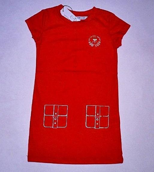 Фото 5: Красное детское платье Little Mark Jacobs