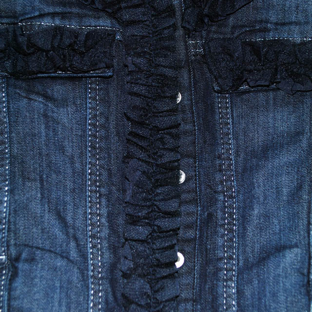 Фото 2: Пиджак джинсовый Miss Grant