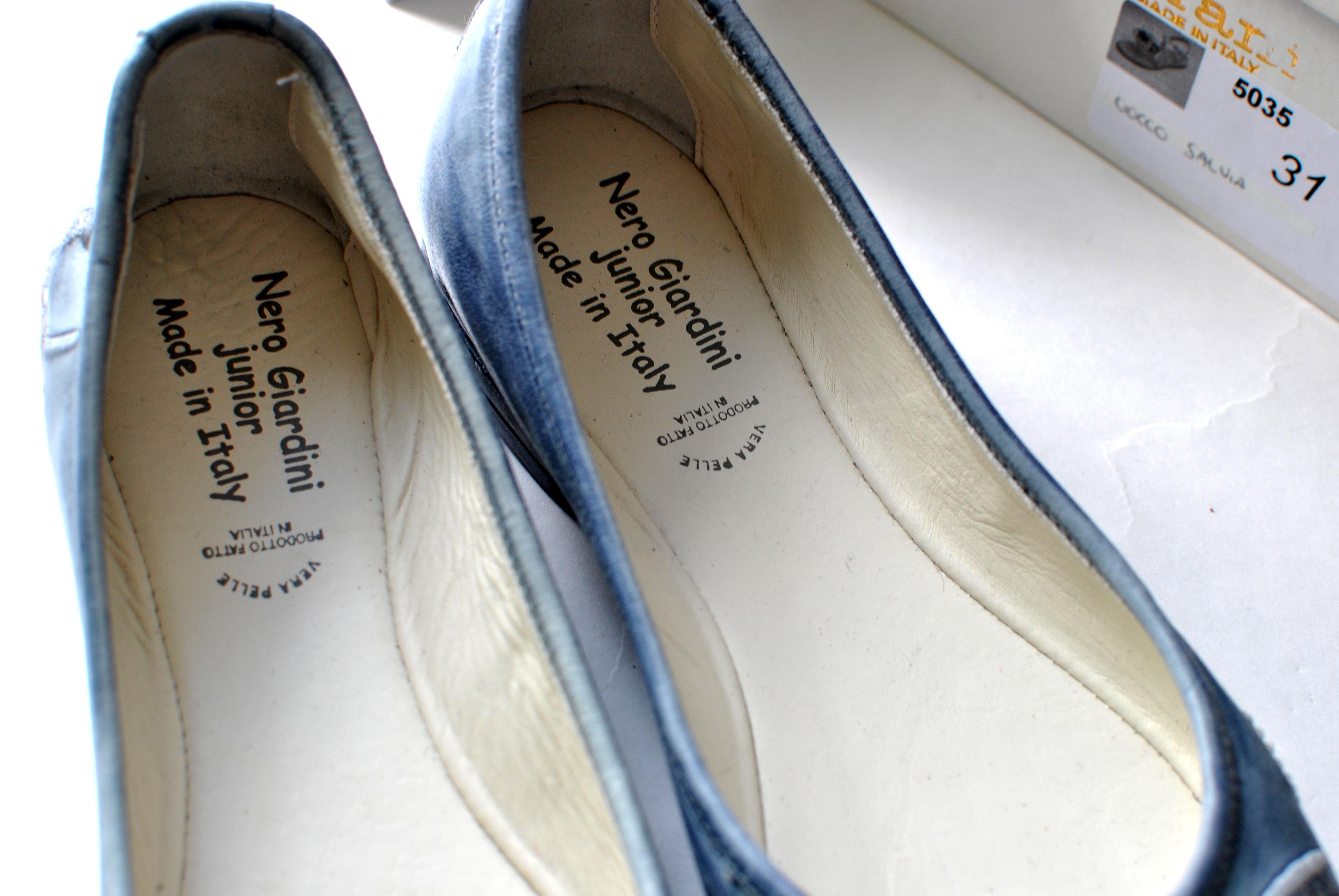 Кожаные туфли - идеальное решение для лета. Верх кожа, внутри кожа синего цвета. Картинка: 5