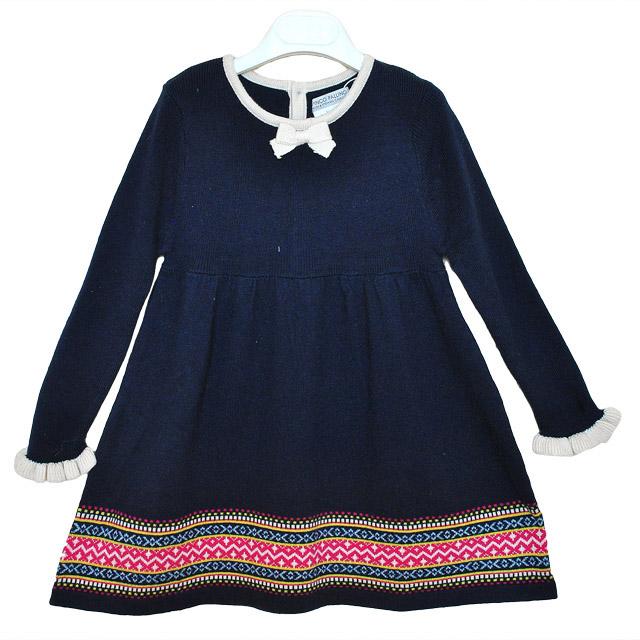 Фото 1: Синие платье для девочек I Pinco Pallino