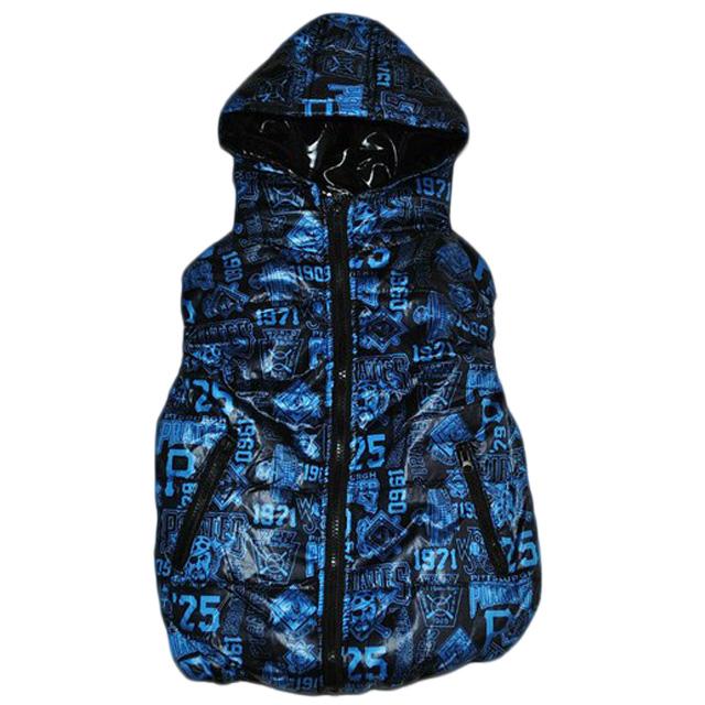 Фото 1: Синяя жилетка ZARA для мальчиков