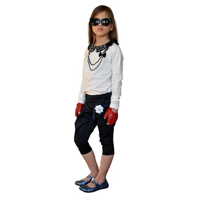Фото 8: Синие туфли для девочек Ciao bimbi
