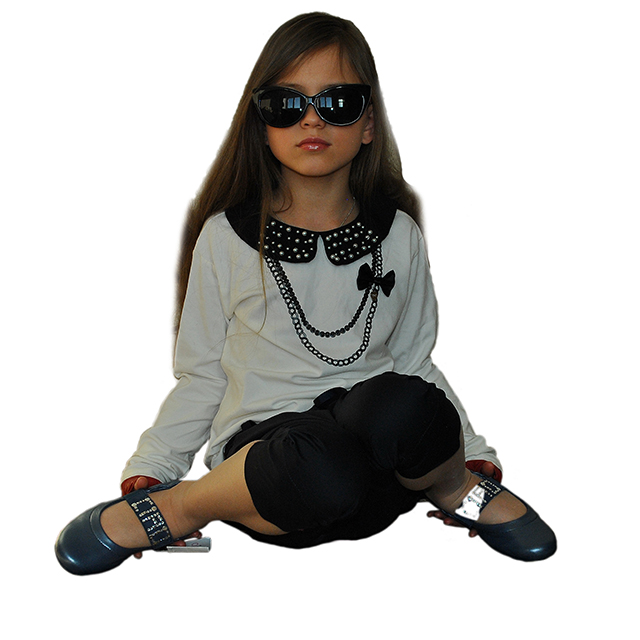 Фото 9: Синие туфли для девочек Ciao bimbi