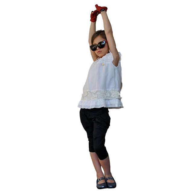 Фото 10: Синие туфли для девочек Ciao bimbi