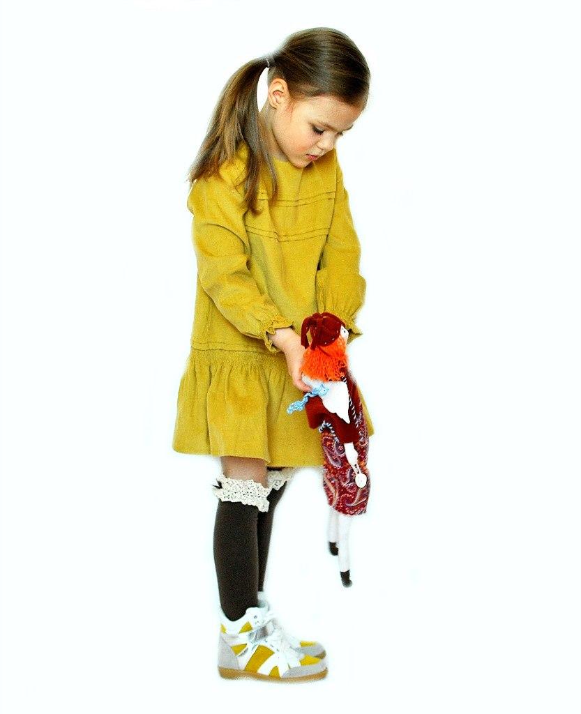 Фото 2: Кроссовки Ciao Bimbi с желтыми вставками
