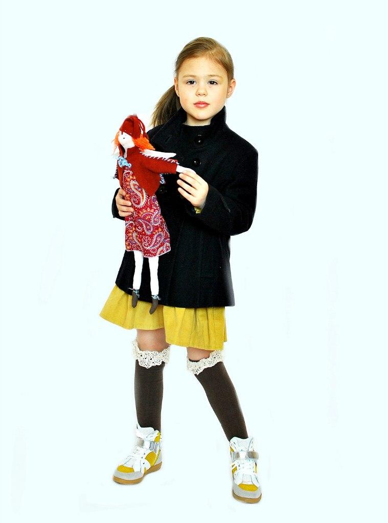 Фото 3: Кроссовки Ciao Bimbi с желтыми вставками